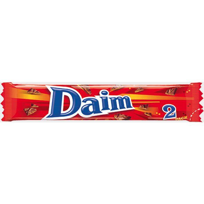 Billede af Chokolade, Daim Dobbel, 2-pak *Denne vare tages ikke retur*