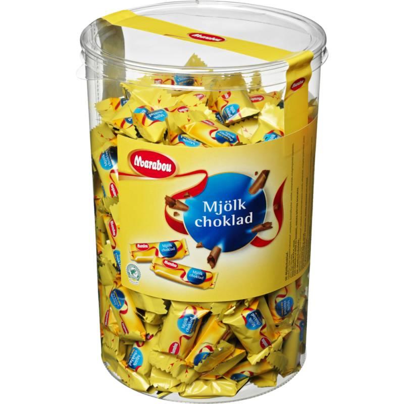 Image of   Chokolade, Marabou Mælk, 200 x 10 g *Denne vare tages ikke retur*