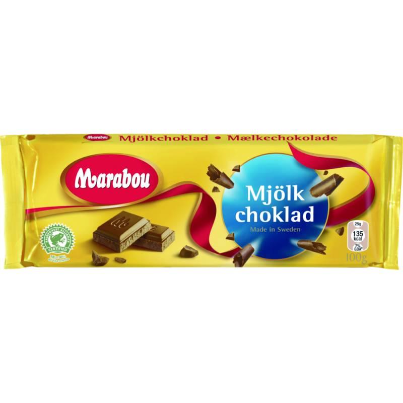 Image of   Chokolade, Marabou Mælk *Denne vare tages ikke retur*