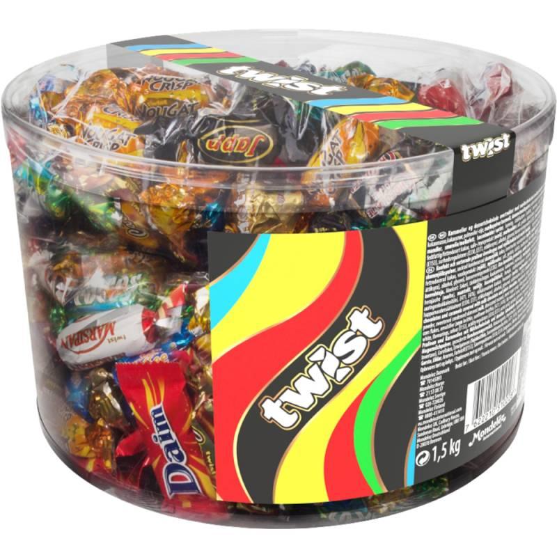 Billede af Chokolade, Twist, cylinder *Denne vare tages ikke retur*