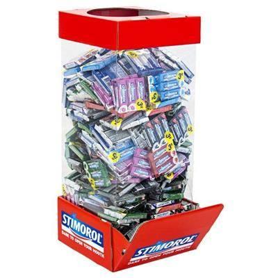 Image of   Tyggegummi, Stimorol, Display, 3-pak, 252 pk. *Denne vare tages ikke retur*