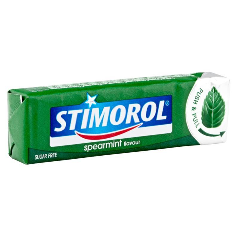 Image of   Tyggegummi, Stimorol, Spearmint *Denne vare tages ikke retur*