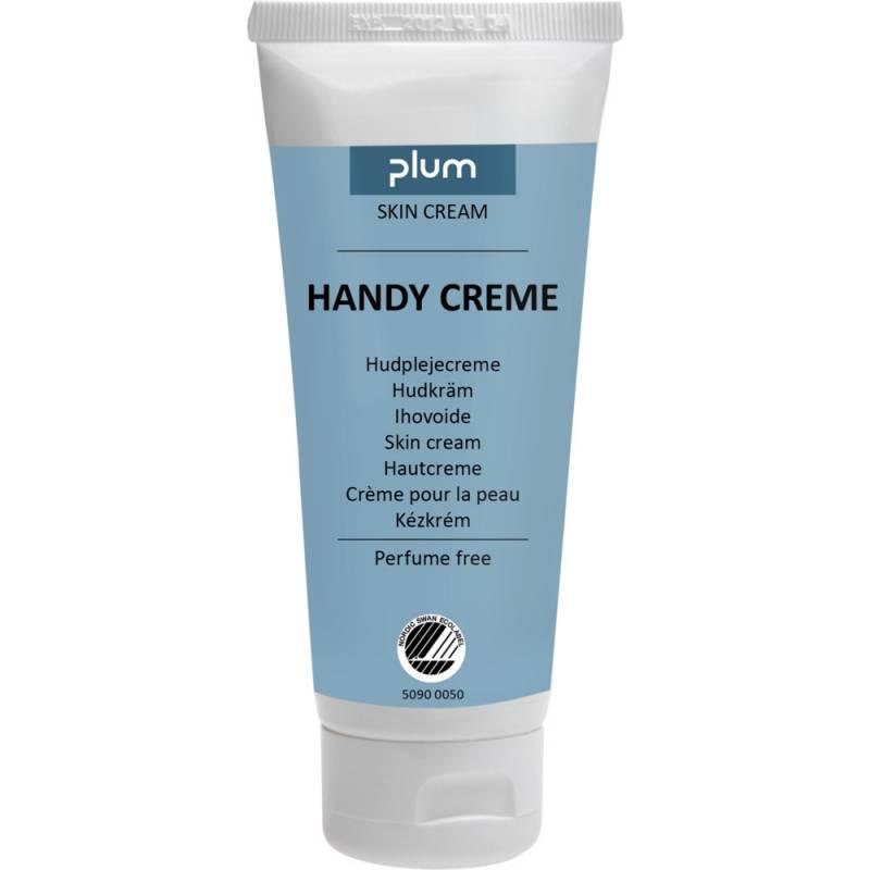 Hudcreme, Plum Handy Creme, 100 ml, uden farve, parfume og parabener, 22% fedt