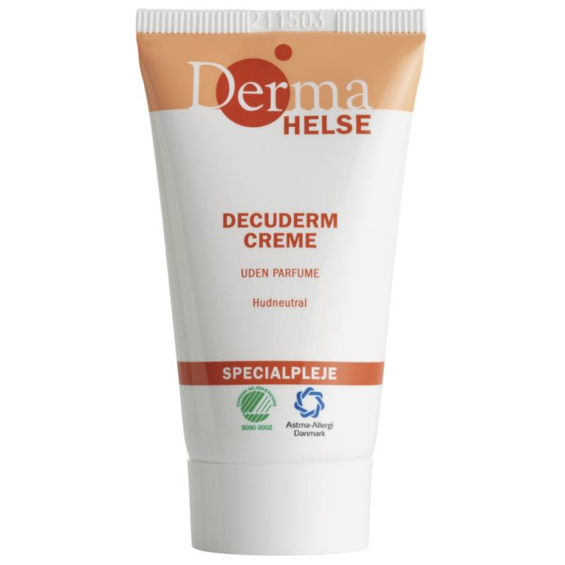 Hudcreme, Derma Helse Decuderm, 25 ml, uden farve og parfume, 30% fedt
