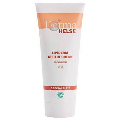 Hudcreme, Derma Helse Lipiderm Repair, 100 ml, uden parfume, 70% fedt