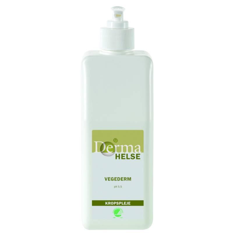 Hudcreme, Derma Helse Vegederm, 560 ml, uden farve og parfume, 16% fedt