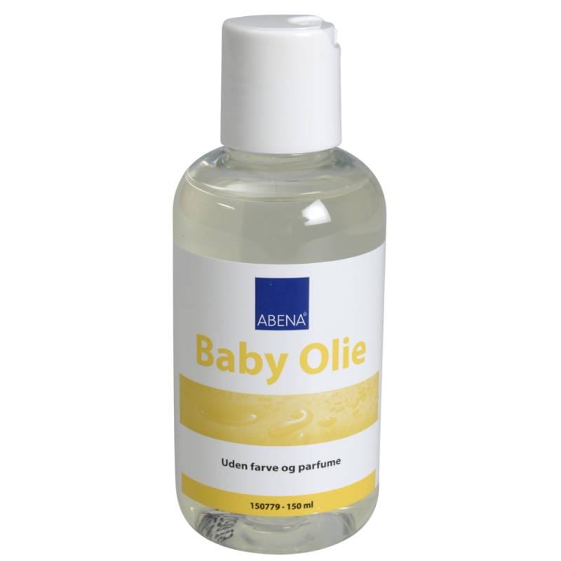 Babyolie, Abena, 150 ml, uden parfume, parabener og farvestoffer