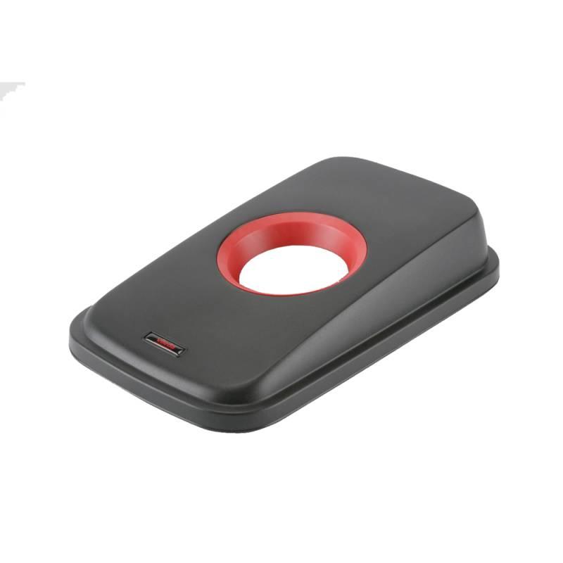 Image of   Låg, Vileda Geo, rød, med rund åbning *Denne vare tages ikke retur*