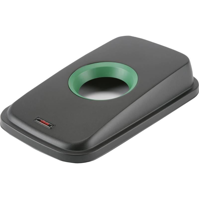 Image of   Låg, Vileda Geo, grøn, med rund åbning *Denne vare tages ikke retur*