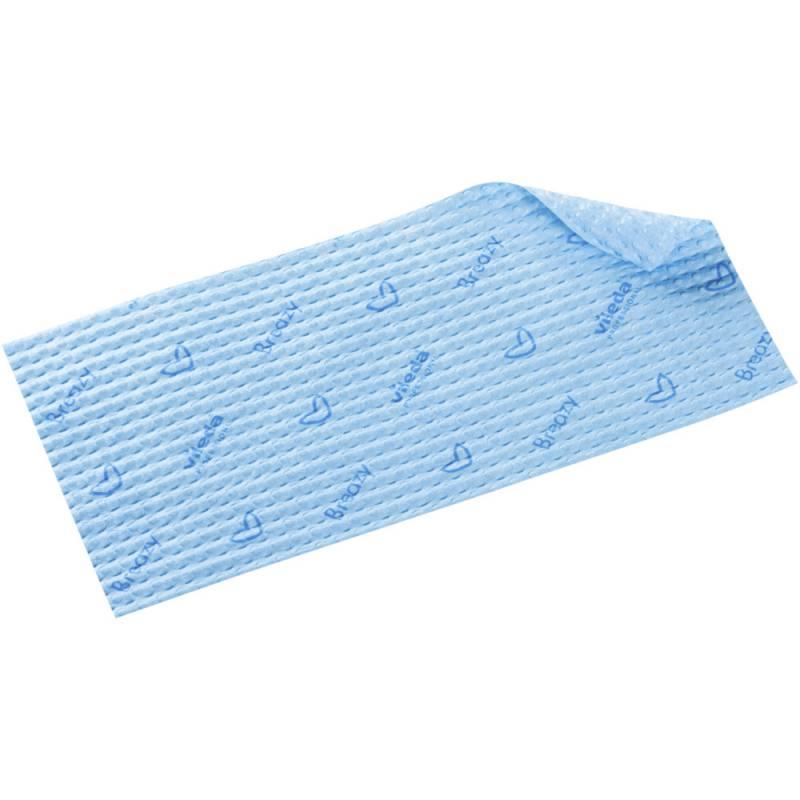 Image of   Engangsmoppe, Vileda ClickSpeed Breazy, blå, mikrofiber, 40 cm