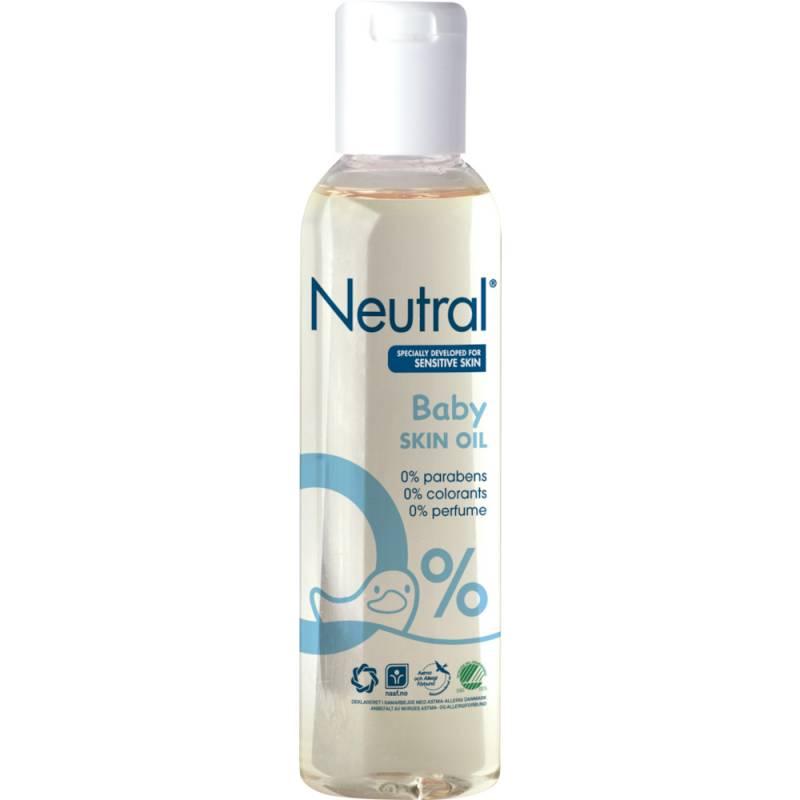 Babyolie, Neutral Baby, 150 ml, uden farve og parfume