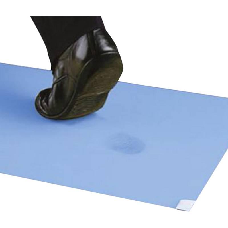 Klæbemåtte, 3M Nomad 4300, 4300BE41, 1,15m x 45cm x 6mm, blå, 40 ark pr. stk. *Denne vare tages ikke retur*