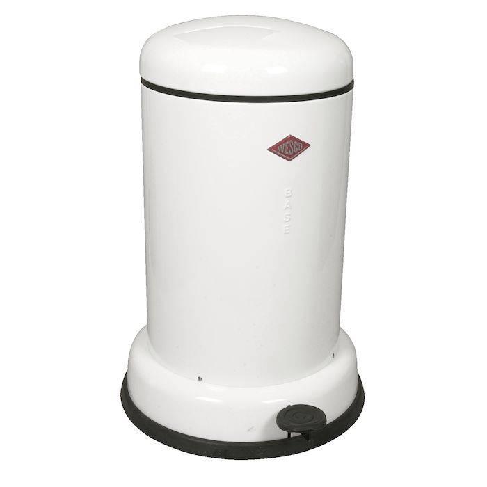 Image of   Pedalspand, Wesco Baseboy, 15 l, hvid