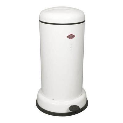 Image of   Pedalspand, Wesco Baseboy, 20 l, hvid *Denne vare tages ikke retur*