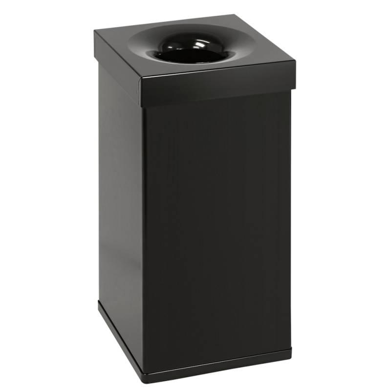 Image of   Brandhæmmende affaldsspand, 55 l, sort *Denne vare tages ikke retur*