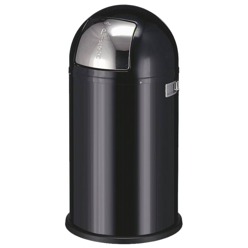 Image of   Affaldsspand, Wesco Pushboy, 50 l, sort *Denne vare tages ikke retur*