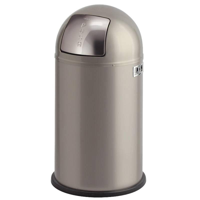Image of   Affaldsspand, Wesco Pushboy, 50 l, alu *Denne vare tages ikke retur*