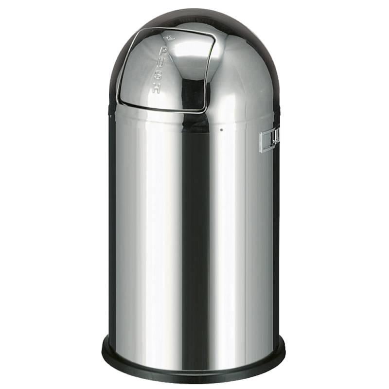 Image of   Affaldsspand, Wesco Pushboy, 50 l, stål *Denne vare tages ikke retur*