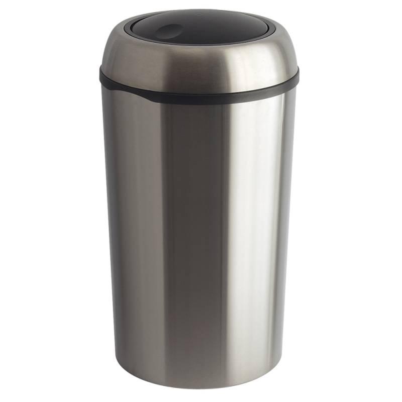 Affaldsspand, 75 l, stål mat