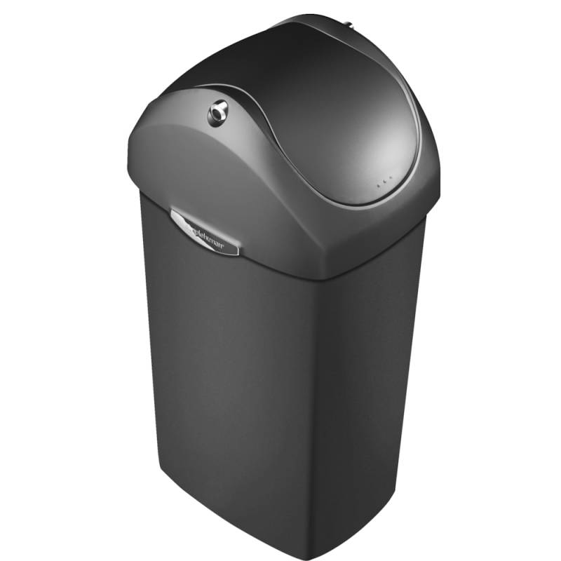 Image of   Affaldsspand, Simplehuman, 60 l, sort