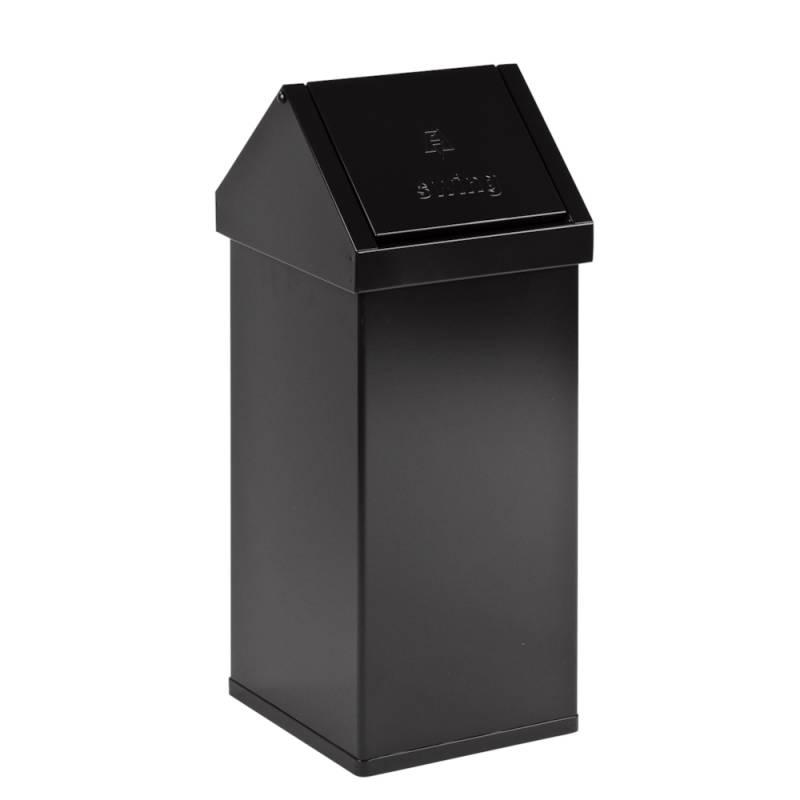 Affaldsspand, Carro-Line Carro-swing, 55 l, sort *Denne vare tages ikke retur*