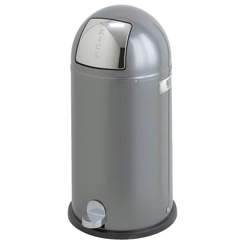 Image of   Pedalspand, Wesco Kickboy, 40 l, graphite *Denne vare tages ikke retur*
