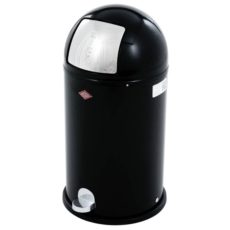 Image of   Pedalspand, Wesco Kickboy, 40 l, sort *Denne vare tages ikke retur*