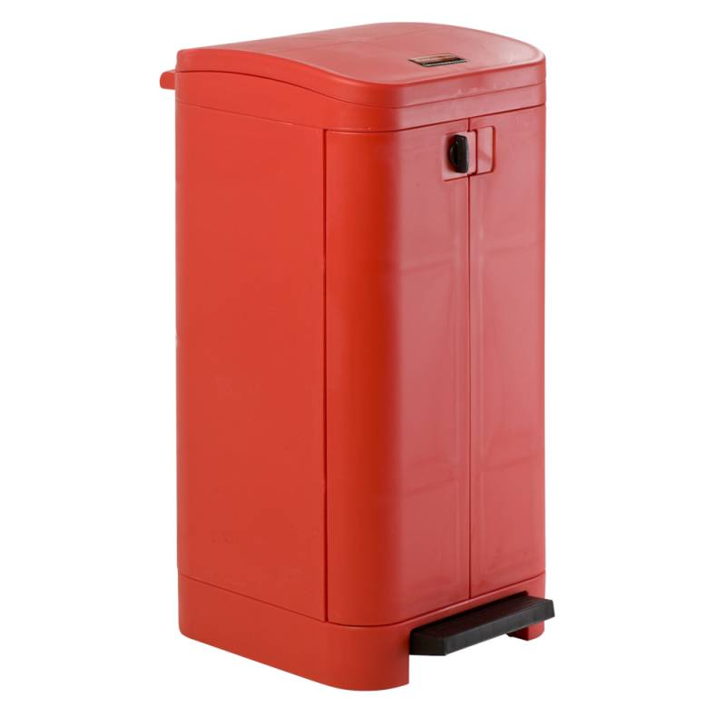 Image of   Pedalspand, Rubbermaid Step-on best, 100 l, rød *Denne vare tages ikke retur*