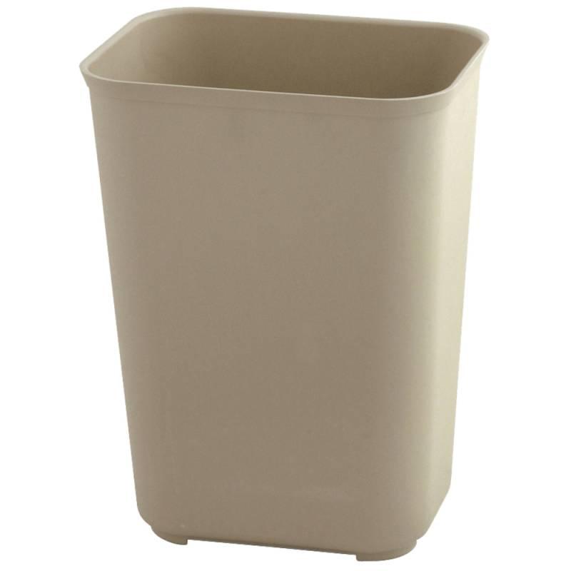 Image of   Papirkurv, Rubbermaid, 13,1 l, beige, brandsikker *Denne vare tages ikke retur*