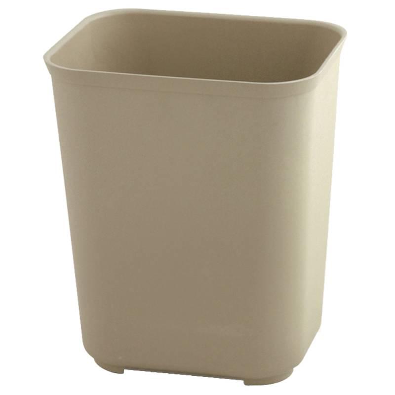 Image of   Papirkurv, Rubbermaid, 37,9 l, beige, brandsikker *Denne vare tages ikke retur*