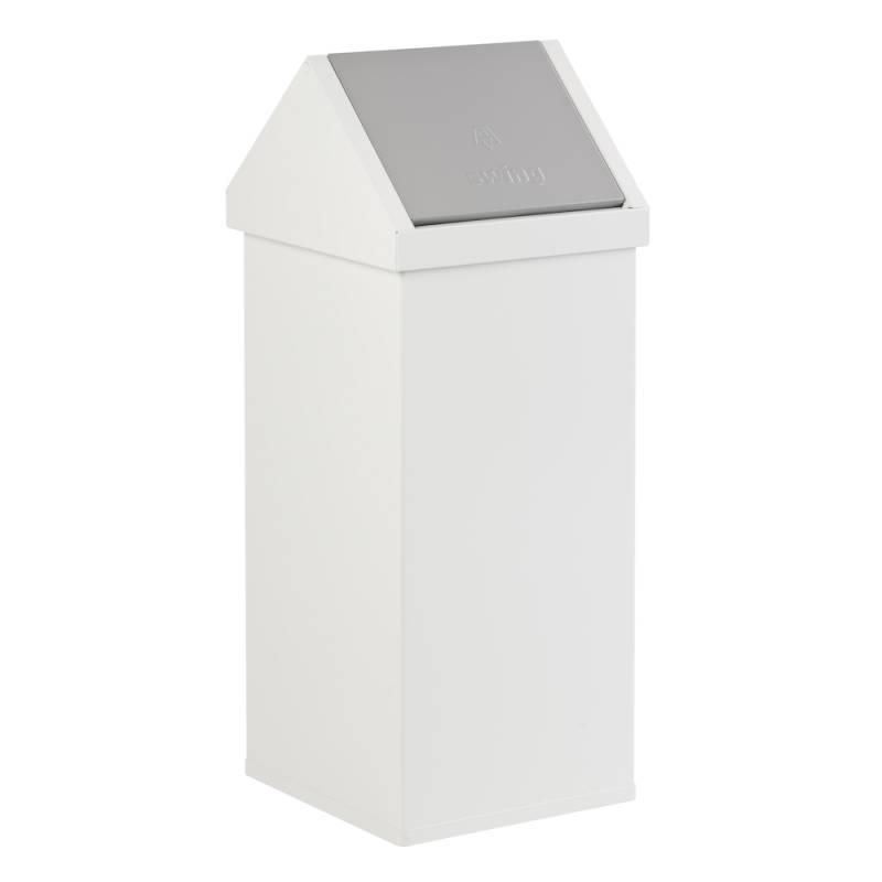 Image of   Affaldsspand, Carro-Line Carro-swing, 110 l, hvid *Denne vare tages ikke retur*