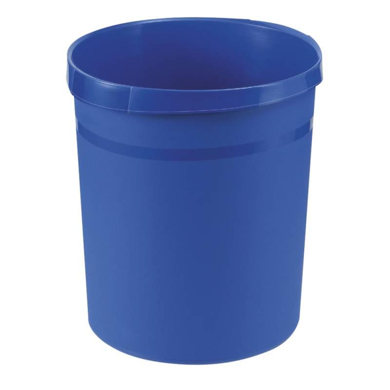 Image of   Papirkurv, 18 l, blå, kildesortering mulig