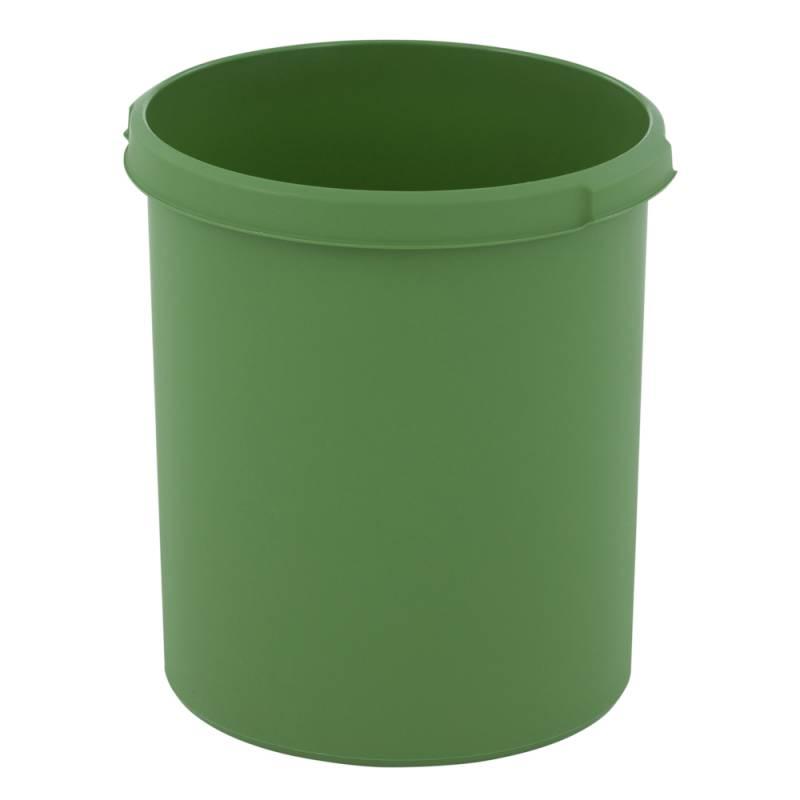 Papirkurv, 30 l, grøn, kildesortering mulig *Denne vare tages ikke retur*