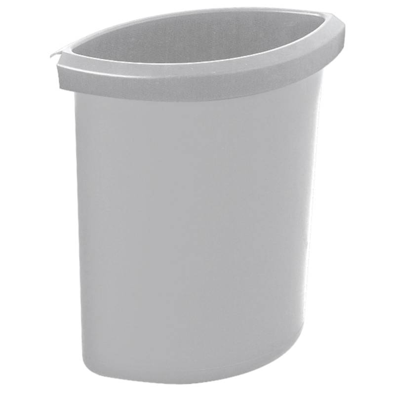 Image of   Indsats, 6 l, grå, til rund affaldsspand *Denne vare tages ikke retur*