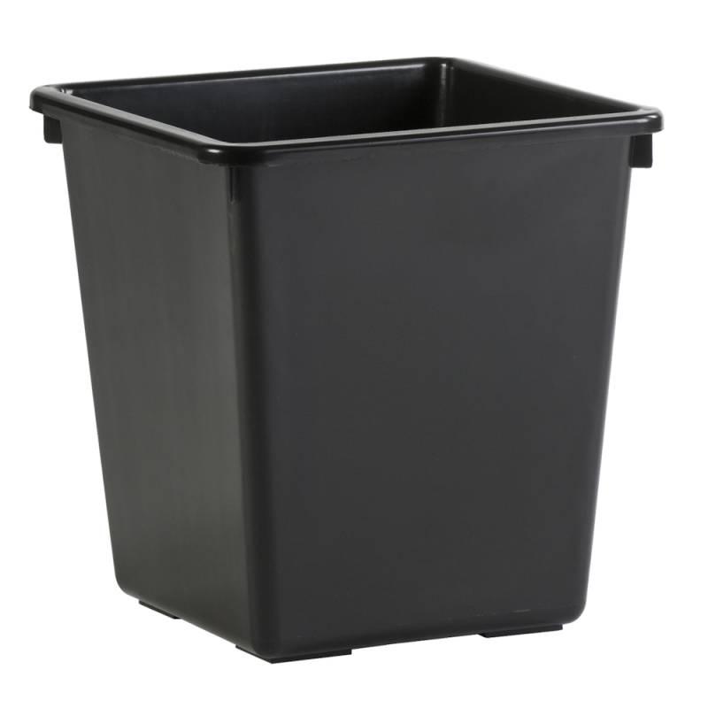 Image of   Papirkurv, 27 l, sort *Denne vare tages ikke retur*