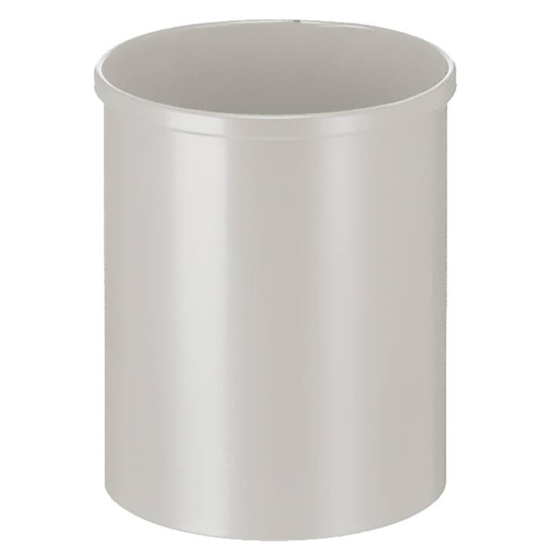 Papirkurv, 15 l, grå *Denne vare tages ikke retur*