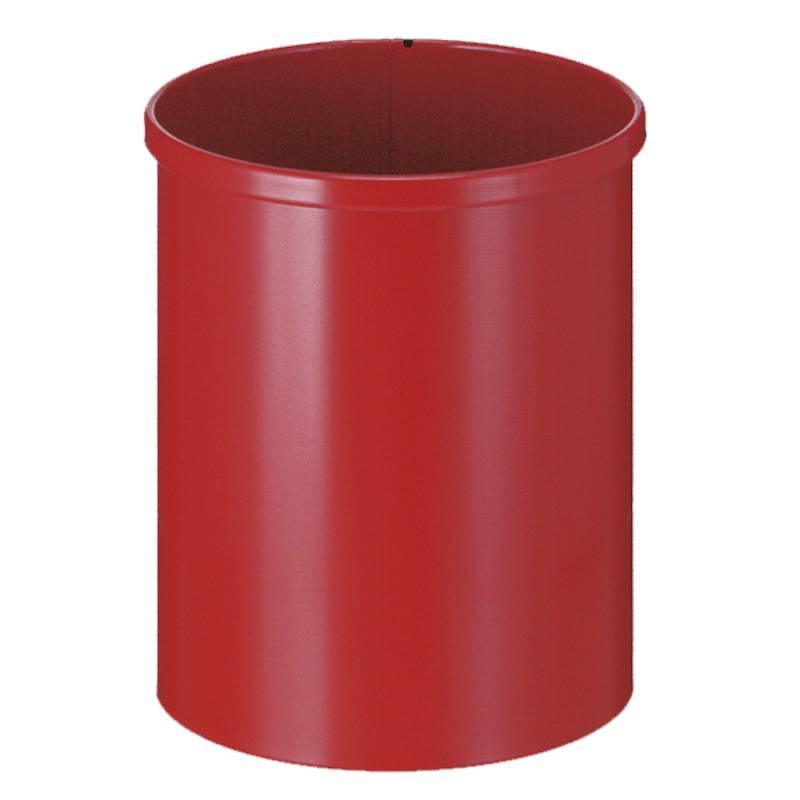 Papirkurv, 15 l, rød *Denne vare tages ikke retur*