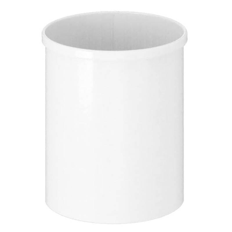 Papirkurv, 15 l, hvid *Denne vare tages ikke retur*