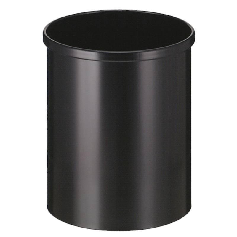 Papirkurv, 15 l, sort *Denne vare tages ikke retur*