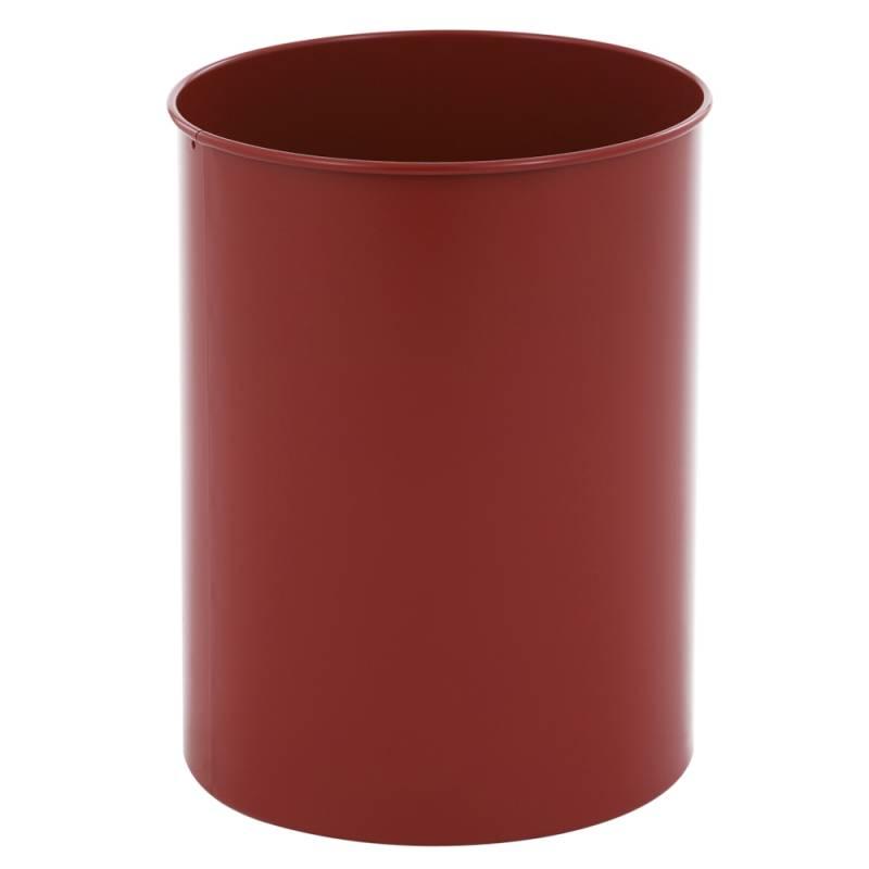 Papirkurv, 30 l, rød *Denne vare tages ikke retur*