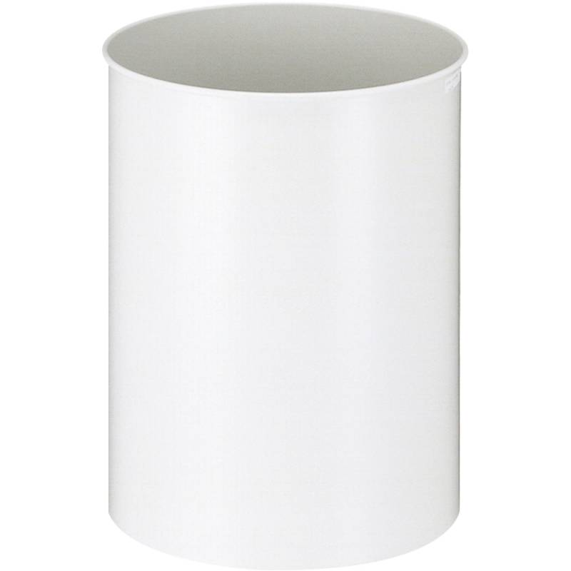 Papirkurv, 30 l, hvid *Denne vare tages ikke retur*