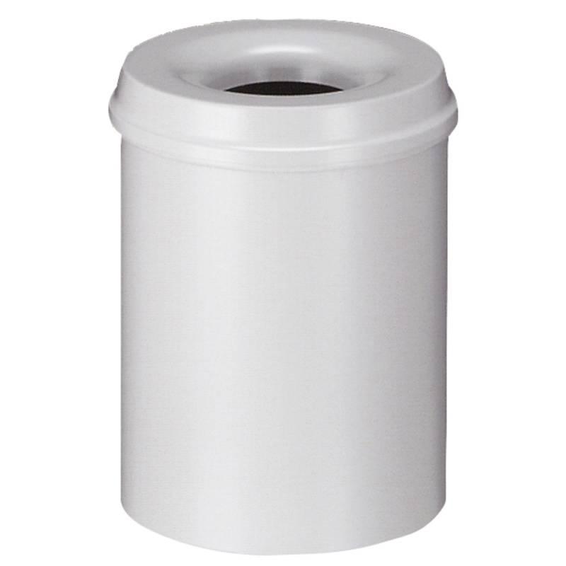 Image of   Brandhæmmende affaldsspand, 15 l, grå *Denne vare tages ikke retur*