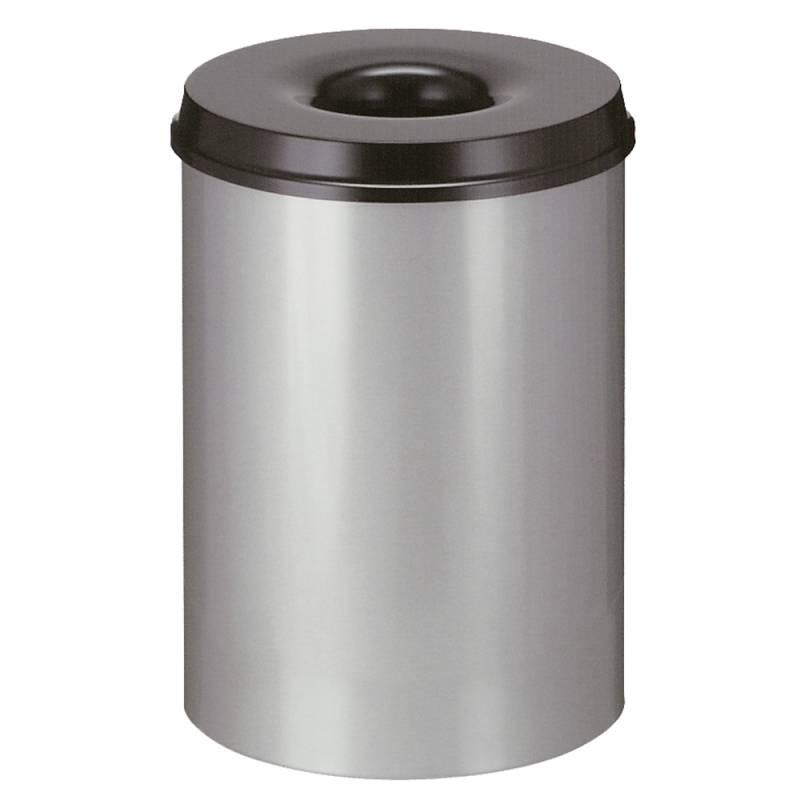 Image of   Brandhæmmende affaldsspand, 30 l, alu *Denne vare tages ikke retur*