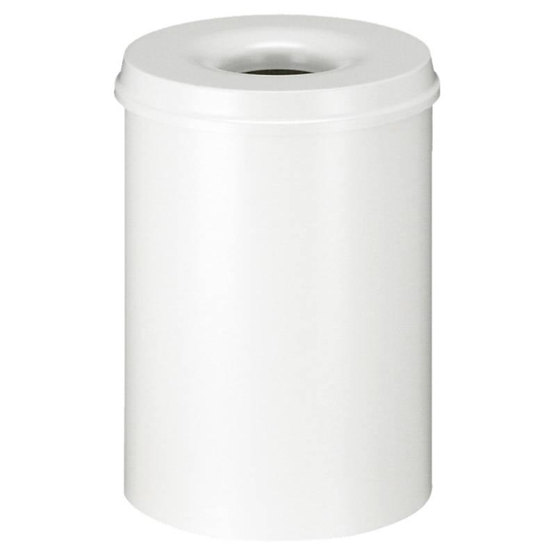 Image of   Brandhæmmende affaldsspand, 30 l, hvid *Denne vare tages ikke retur*