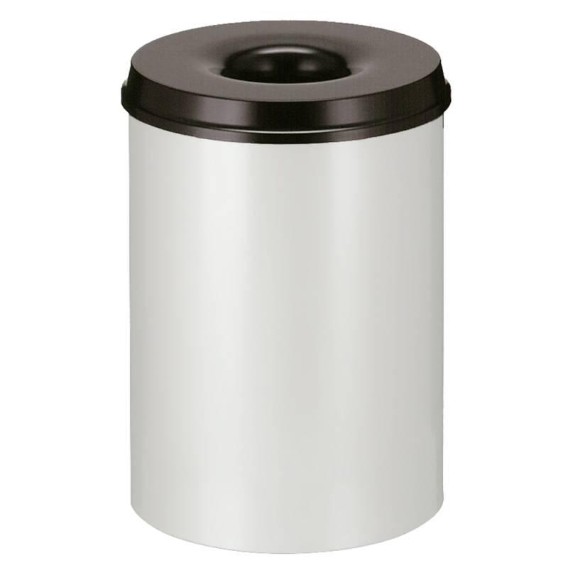Image of   Brandhæmmende affaldsspand, 30 l, grå *Denne vare tages ikke retur*