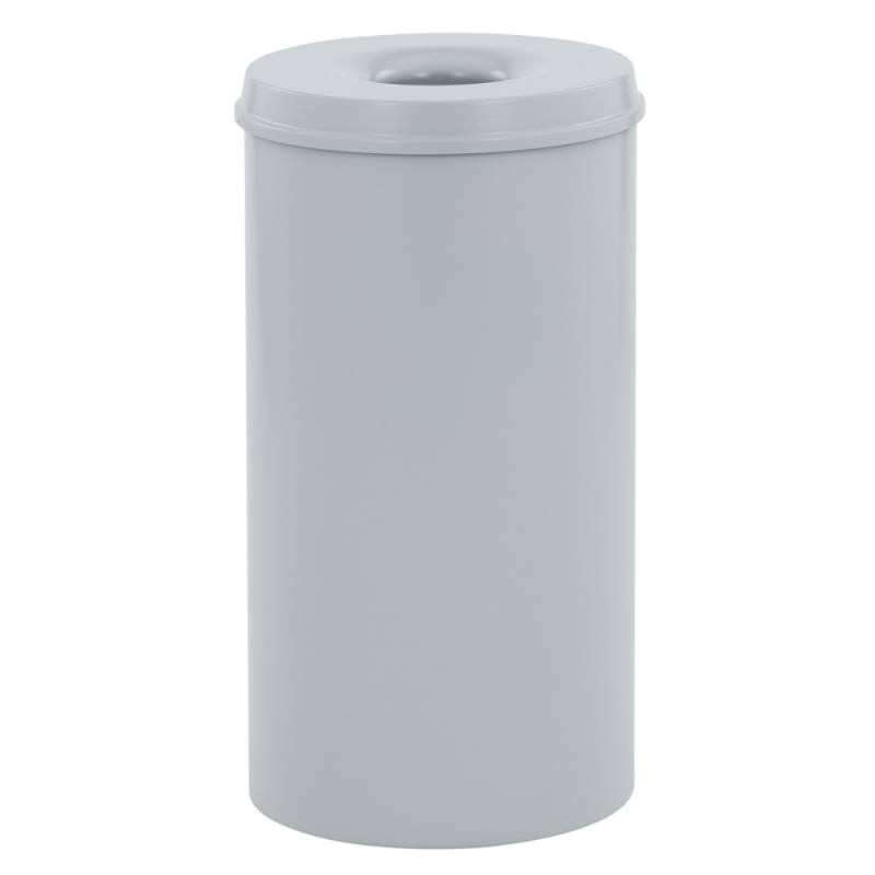 Image of   Brandhæmmende affaldsspand, 50 l, grå *Denne vare tages ikke retur*