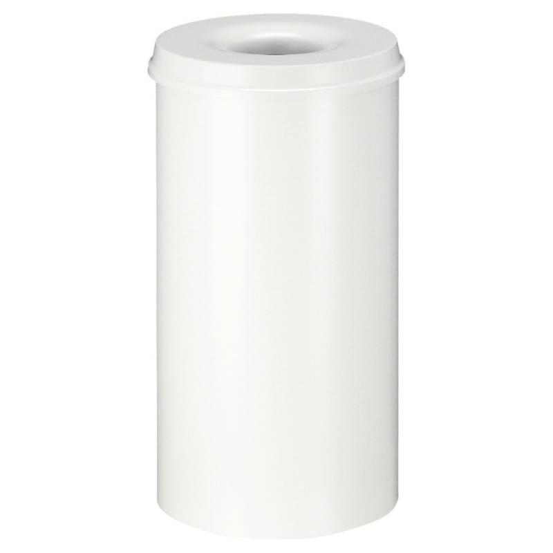 Image of   Brandhæmmende affaldsspand, 50 l, hvid *Denne vare tages ikke retur*
