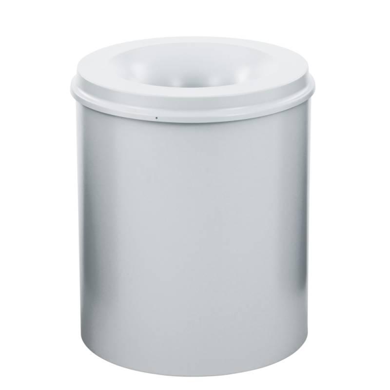 Image of   Brandhæmmende affaldsspand, 80 l, grå *Denne vare tages ikke retur*
