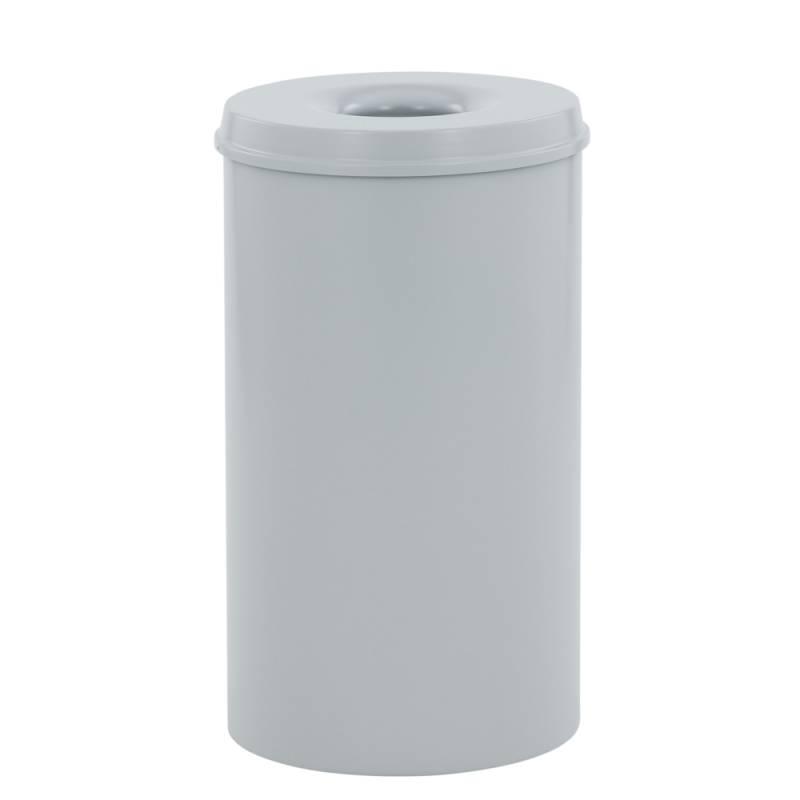 Image of   Brandhæmmende affaldsspand, 110 l, grå *Denne vare tages ikke retur*