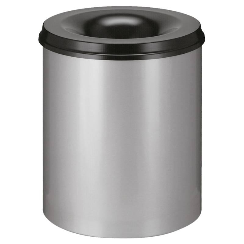 Image of   Brandhæmmende affaldsspand, 80 l, alu *Denne vare tages ikke retur*
